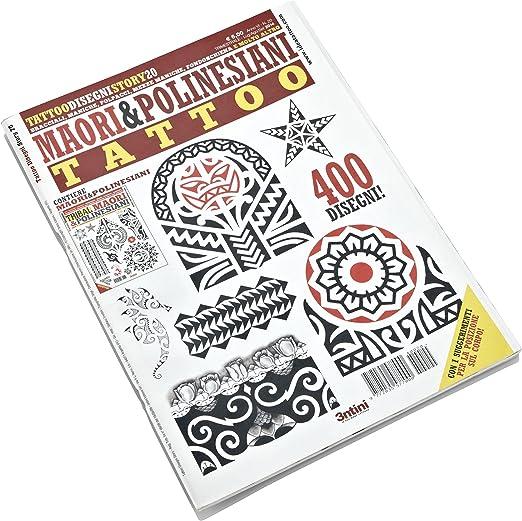 Libro de tatuajes, diseños tribales y polinesios: Amazon.es: Hogar