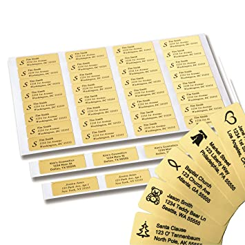 amazon com return address labels 250 personalized labels on