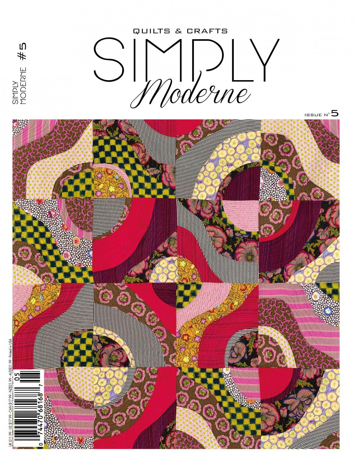 Quilts & Crafts Simply Moderne Issue No. 5 PDF