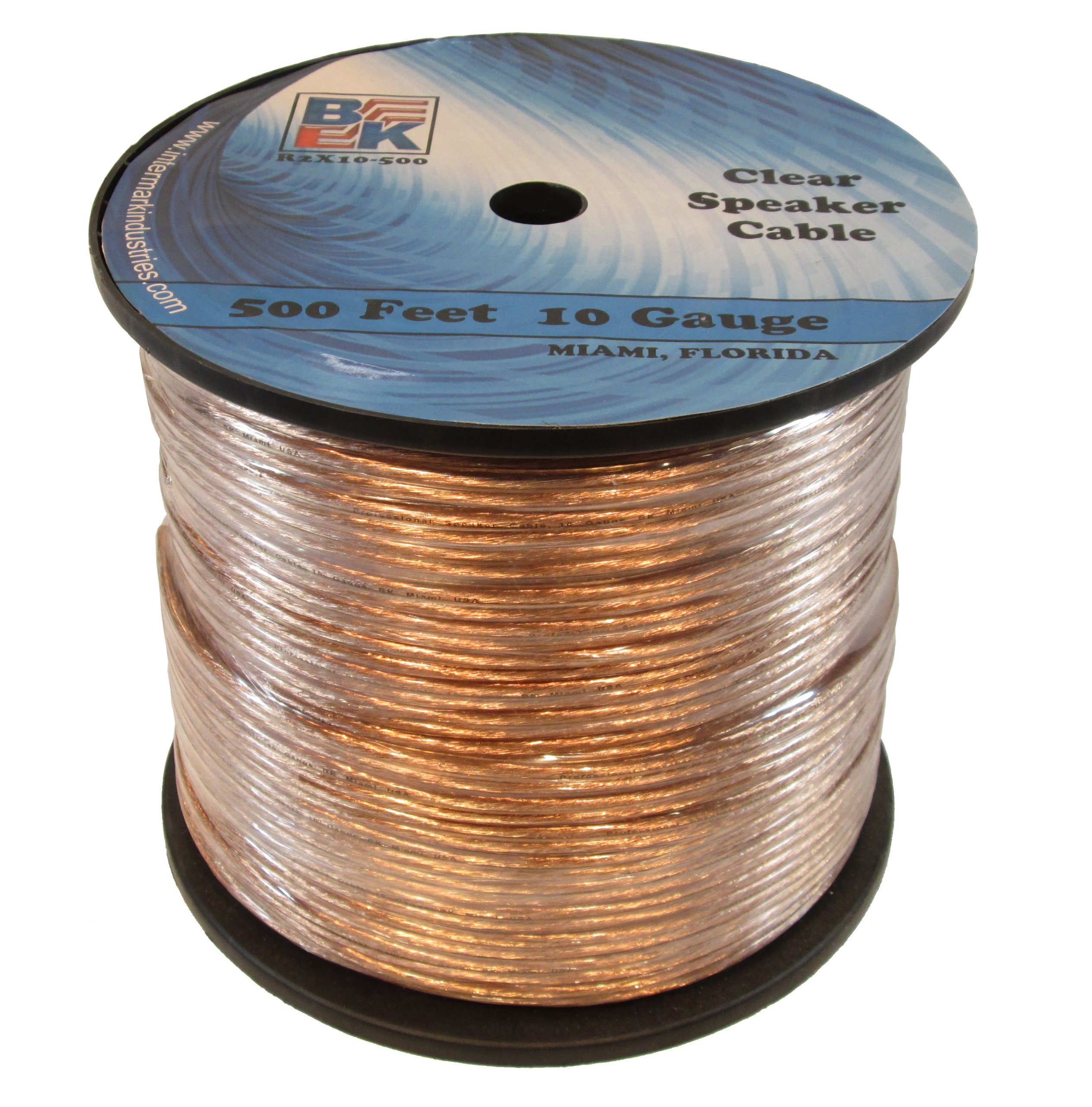 Blast King IR2X10-500 10 Gauge 500-Feet Speaker Wire