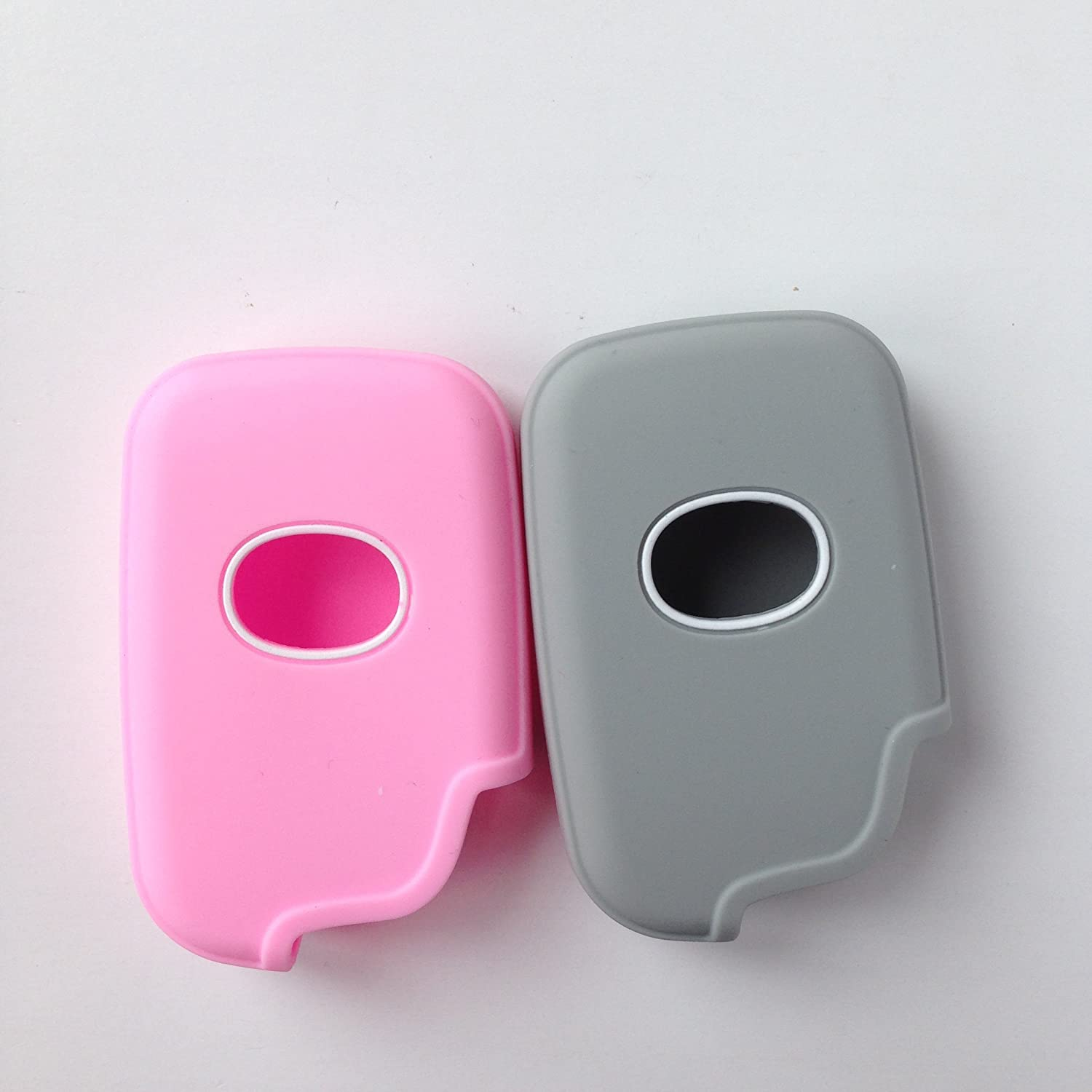 2pcs New Protective Fob Skin Key Cover for Lexus GS430 GS300 IS350 IS250 LS460 GS450h GS350 ES350 LS600h IS350 Key Jacket Keyless Fob Remote Smart Key Jacket Key Protector