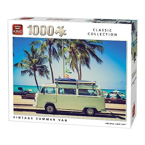 King 5719vintage d'été van puzzle