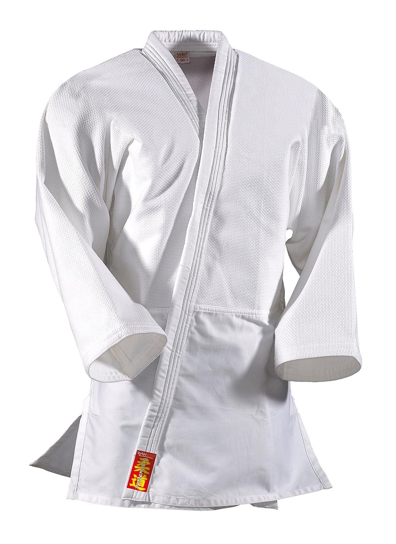 DANRHO, Judogi Yamanashi, Nero (Weiß), 150 cm KWON 339001150