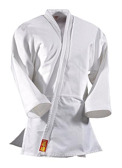 DanRho Yamanashi - Uniforme de Judo, Blanco: Amazon.es ...