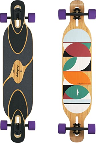 Loaded Boards Dervish Sama Bamboo Longboard Skateboard Complete