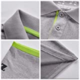 ZITY Men's Polo Shirt Lightweight Cool Dri-Fit