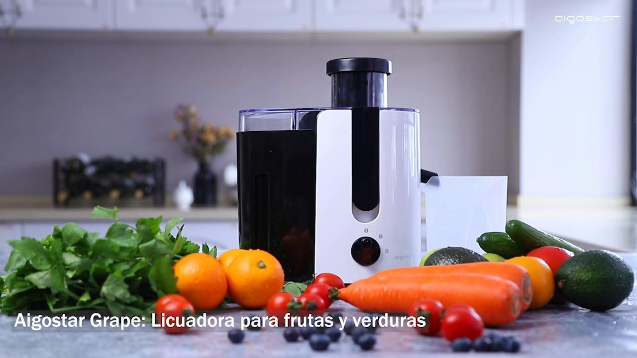 Aigostar Grape 30JDA – Licuadora para frutas y verduras, 400 W ...