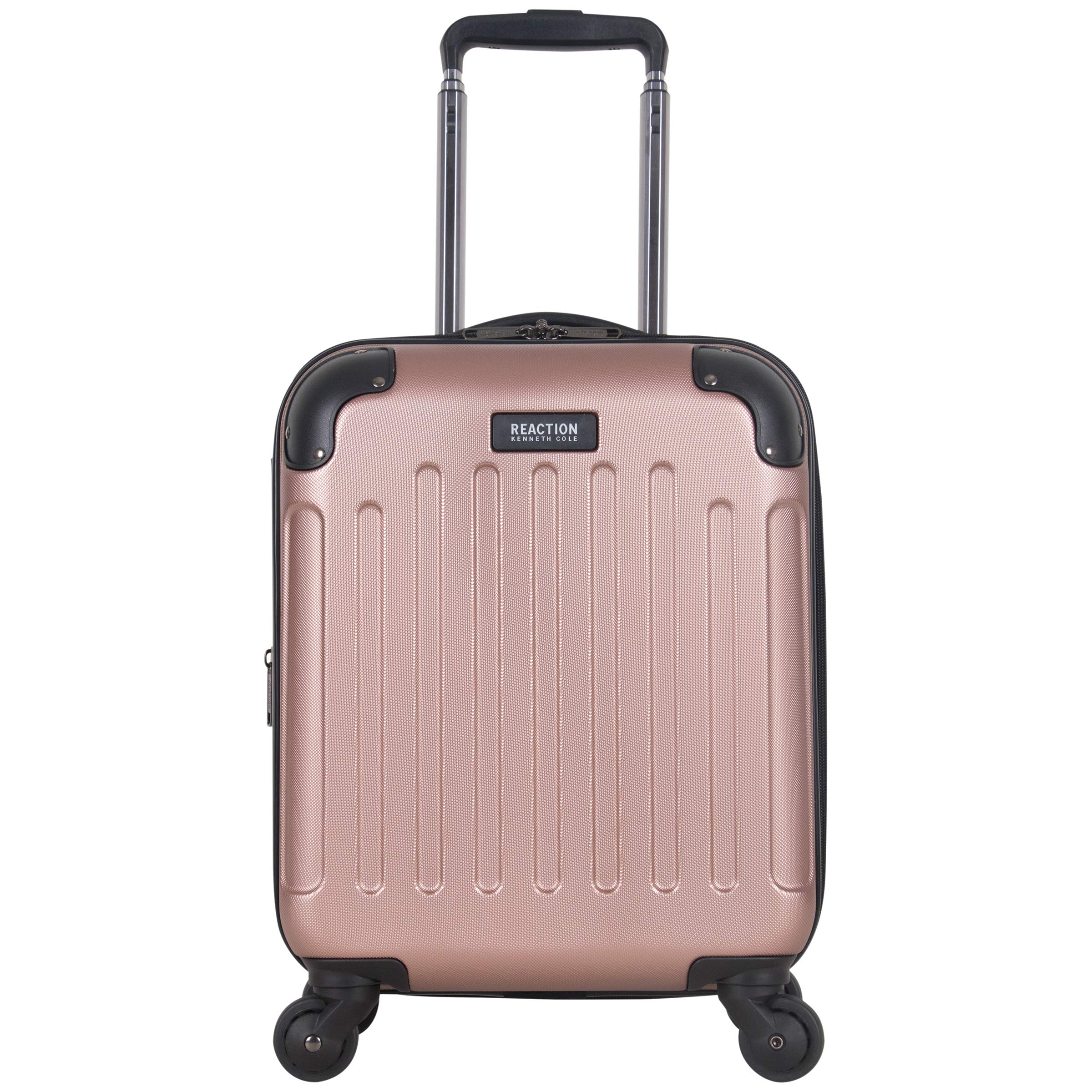 Kenneth Cole Reaction Renegade 16'' Hardside Expandable 4-Wheel Spinner Mini Carry-on Luggage, Rose Gold