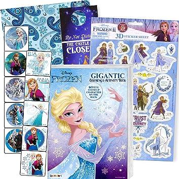 Disney Frozen Stickers Set of 3