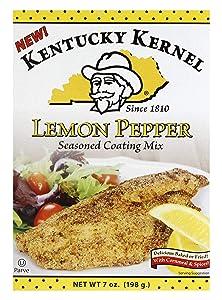 Kentucky Kernel Lemon Pepper Coating Mix, 7 Ounce