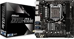 Asrock Z370M-ITX/AC Placa Base (Z370M-Itx/Ac, Amd, Am4, Z370, 2Ddr4, 32Gb, 2Hdmi+Dp, Gblan+Wifi+Bt, 6Sata3, 8Usb3.1, M-I, Sin Especificar