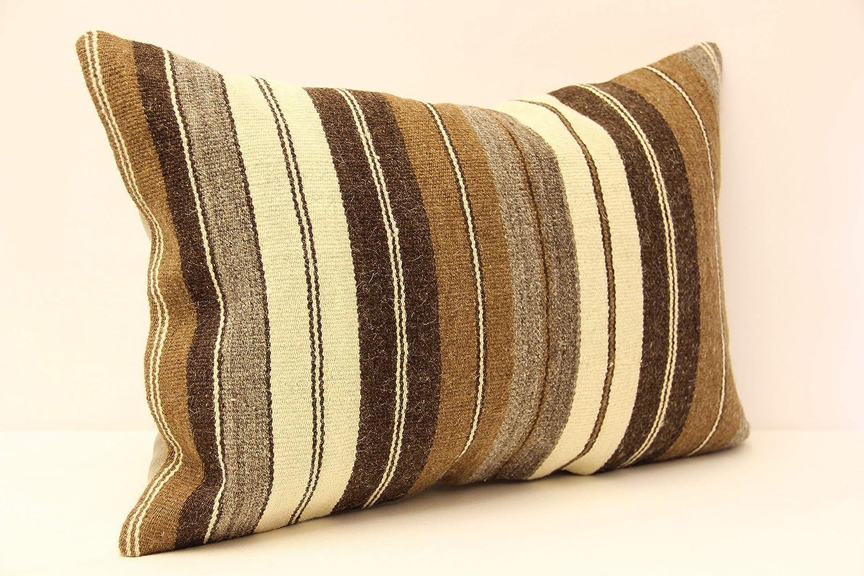 Decorative Pillow Turkish Pillow Yellow Striped Pillow Stripped Pillow Moroccan Pillow