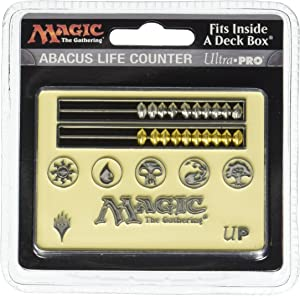 Magic: The Gathering White Card Size Abacus Life Counter