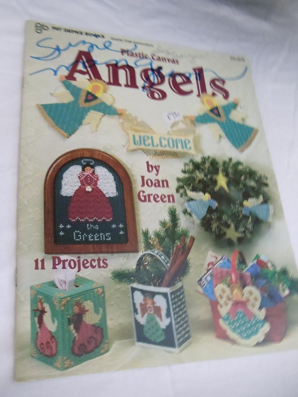 Plastic Canvas Angels Pat Depke Books