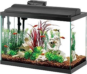 Aqueon Deluxe LED 29 gallon aquarium