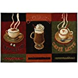 Mohawk Home New Wave Caffe Latte Primary Printed
