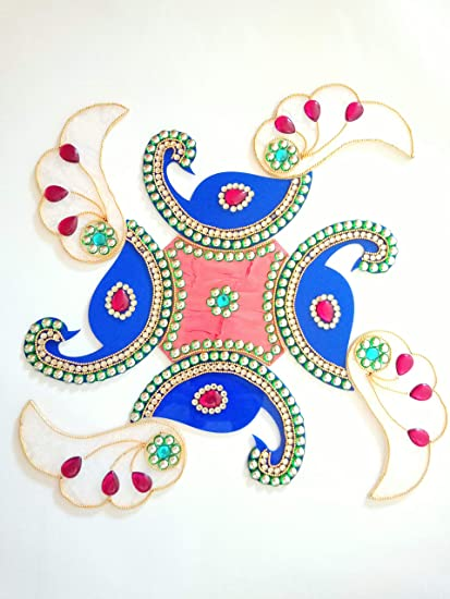 Amazon Sarvam Rangoli Beautiful Reusable Traditional Festive