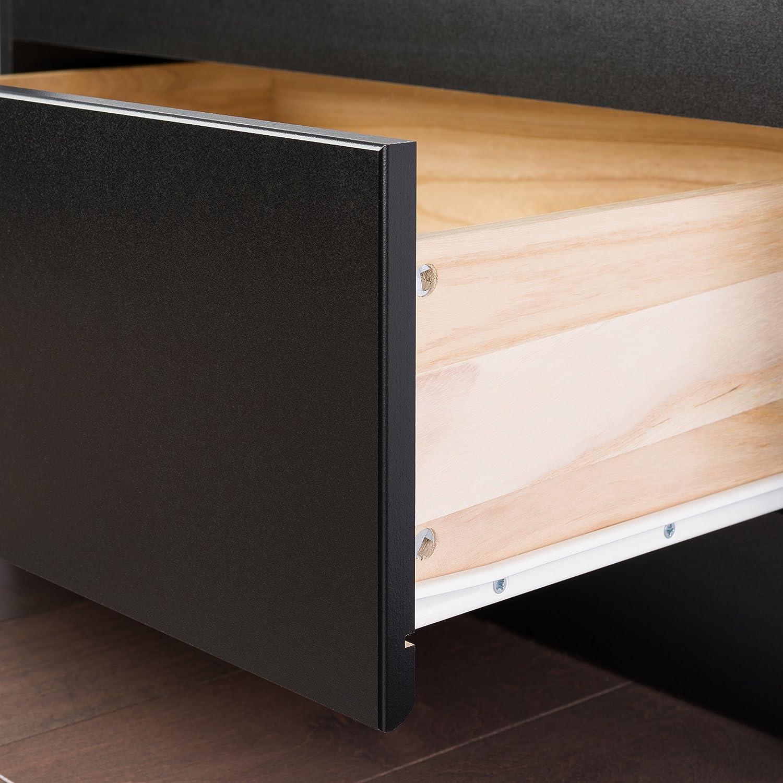 amazoncom black king mate's platform storage bed with  drawers  - amazoncom black king mate's platform storage bed with  drawers kitchen dining