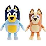 "Official Bluey And Friends 8/"" Stuffed Animal MUFFIN BINGO Plush Dog Set Of 2"