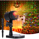 Christmas Lights Laser Projector: Minetom Decorative Light Starry LED Light Projection 3 Working Modes Waterproof Plug in Mou
