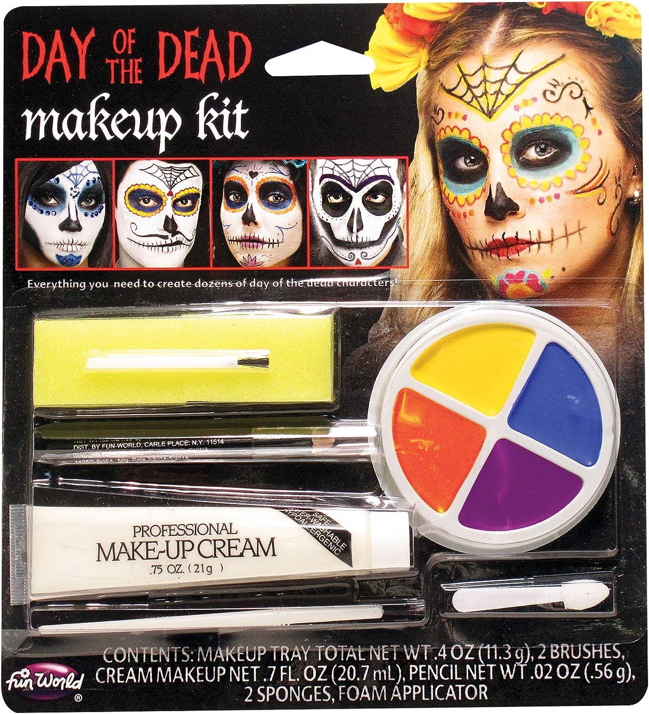 Fun World The Colorful Class Clowns Multicolor 8pc Makeup Kit