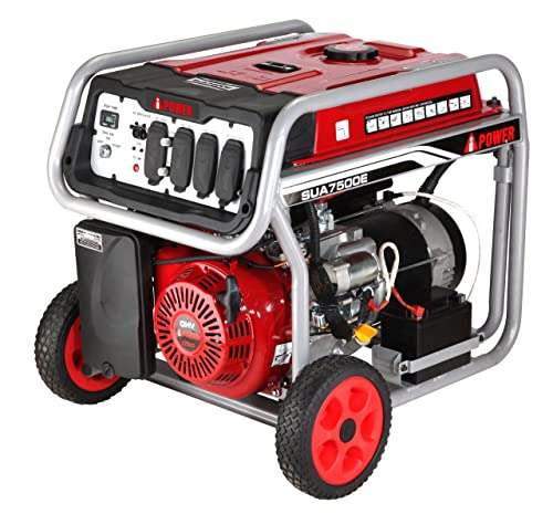 A-iPower SUA7000 7000-Watt Gasoline Powered Generator