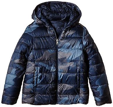 United Colors of Benetton 2QD0536Q0 Reversible Wadded Coat, Abrigo para Niños, Blue (Navy