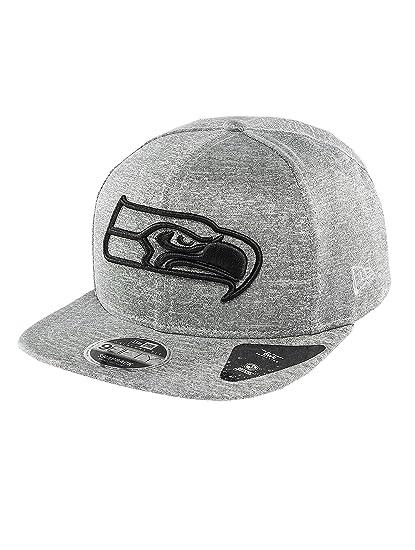 New Era Men Caps Snapback Cap Jersey Tech Seattle Seahawks 9Fifty Grey S M   Amazon.co.uk  Clothing c7b1debcc585