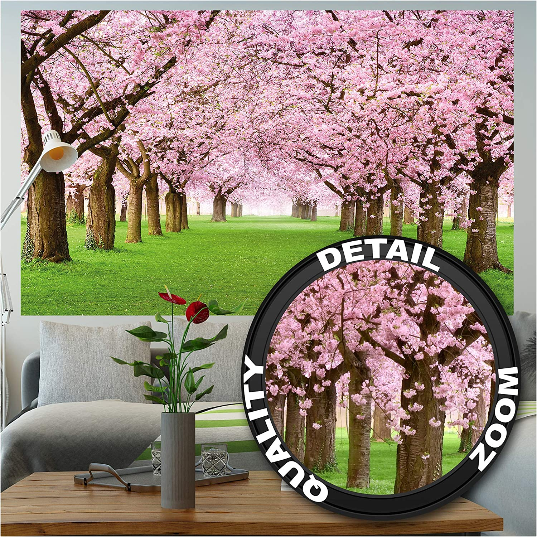 Amazon Com Mural Cherry Blossom Tree Decorative Wall Poster