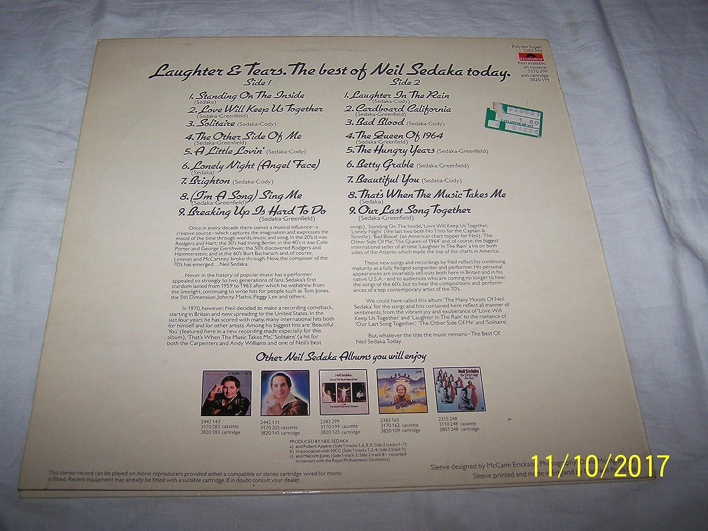Neil Sedaka - Laughter And Tears: The Best Of Neil Sedaka - [LP] Import