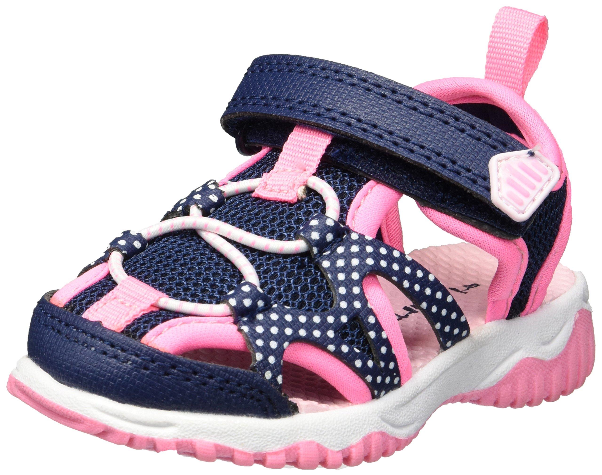 Carter's Unisex-Kids Zyntec Boy's and Girl's Athletic Sport Sandal, Navy, 11 M US Little Kid