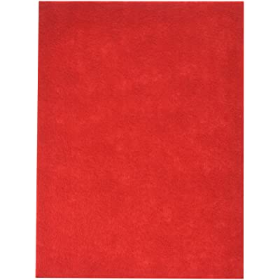 "Stick It Felt 9""X12"", Red - 1 Pack: Arts, Crafts & Sewing"