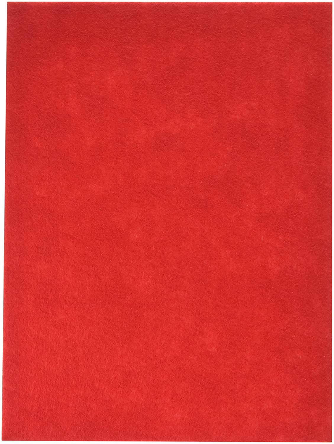 Stick It Felt 9X12 Red 1 Pack