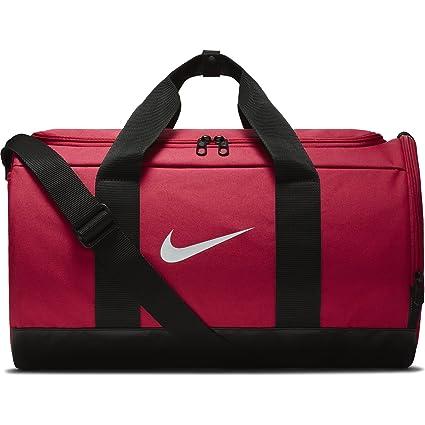 c2242bf9 Nike Team - Bolsa Deportiva para Mujer, Rush Pink/Black/White, Una ...