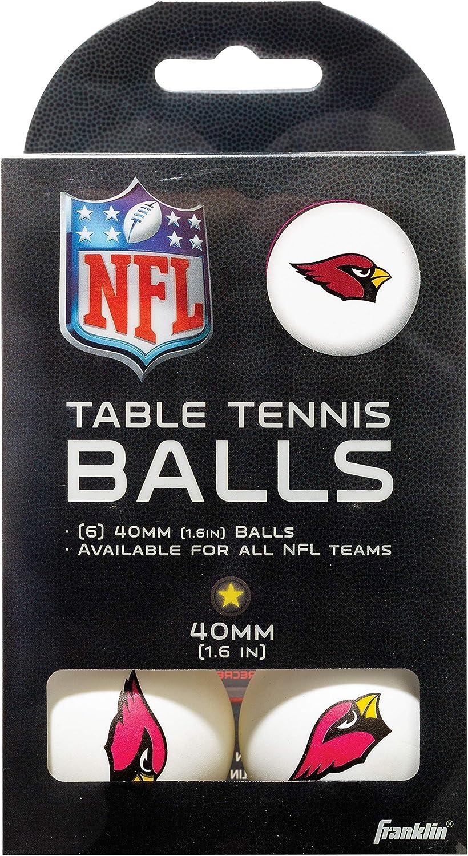 Franklin Sports NFL Team - Pelotas de Tenis de Mesa