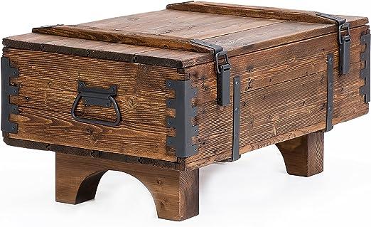 Own Design - Baúl de viaje antiguo como mesa auxiliar de diseño ...