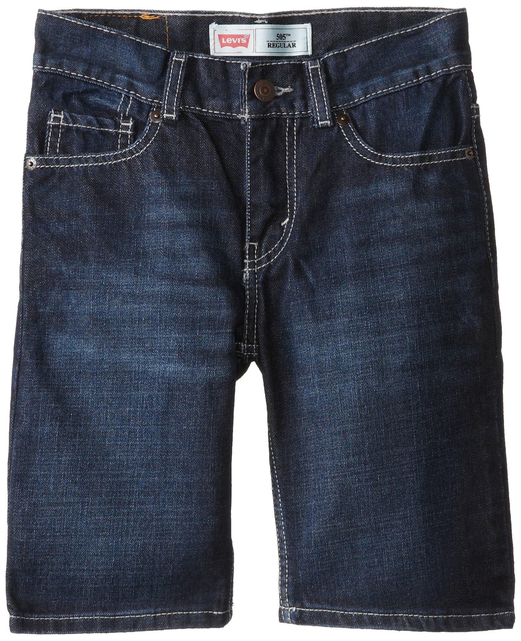 Levi's Big Boys' 505 Regular Fit Denim Shorts, Thorne, 10
