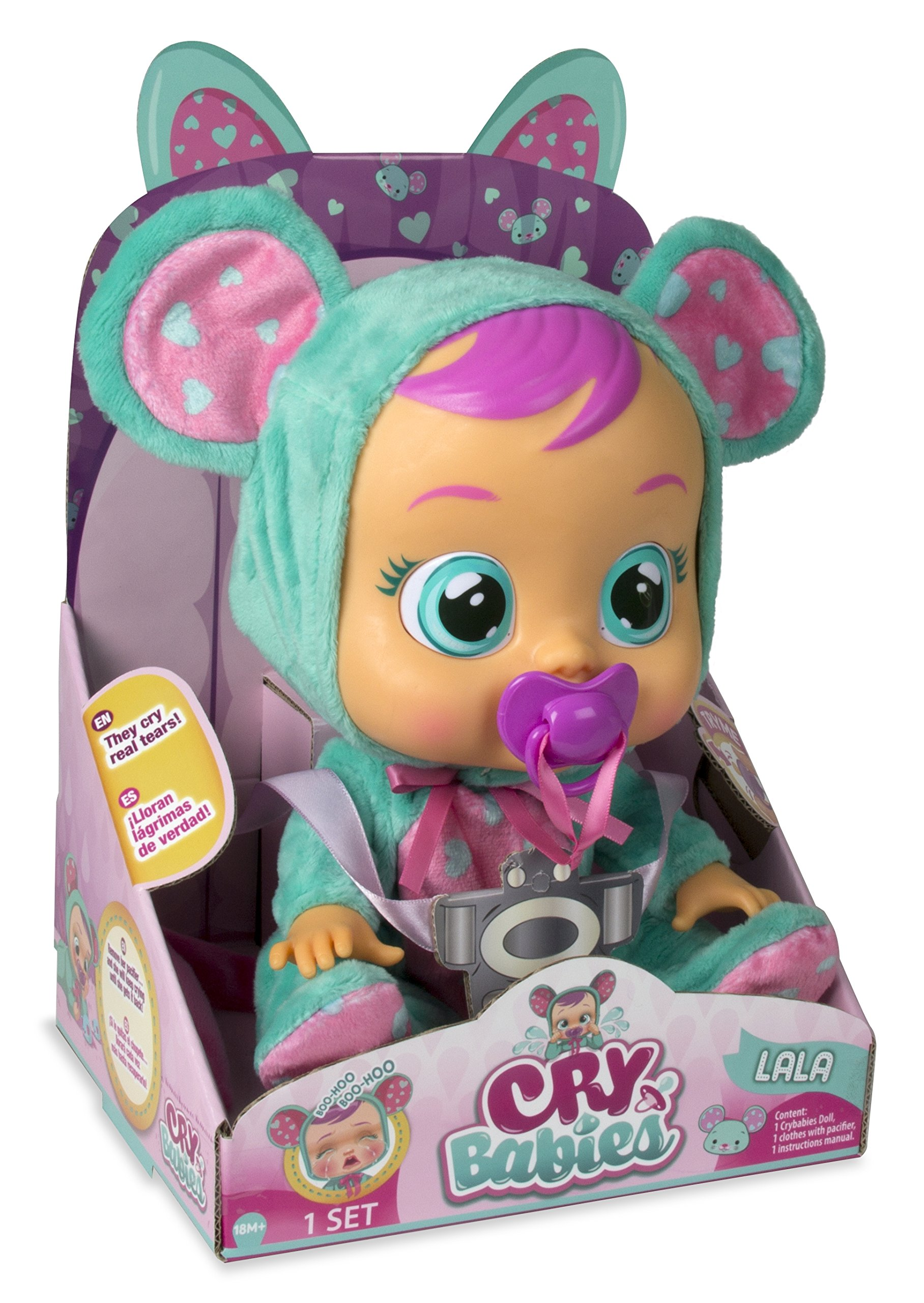 Cry Babies Girls Lala Baby Doll by Cry Babies (Image #4)