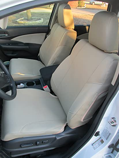Honda Crv Seat Covers >> Amazon Com Durafit Seat Covers Taupe Velour 2007 2009 Honda Crv