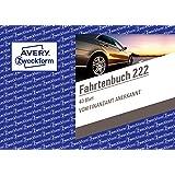 Avery Zweckform 222Aviation livre pour voitures (A6, 40feuilles) Blanc Softcover 1 Stück