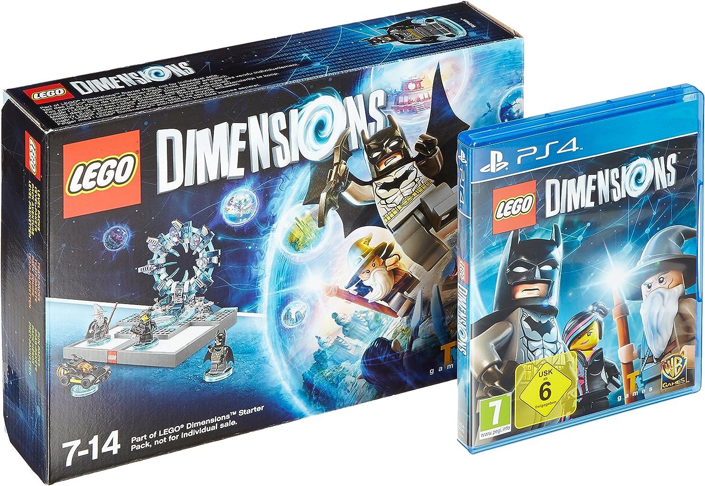 Lego Dimensions - Starter Pack + Supergirl Figur [Importación ...