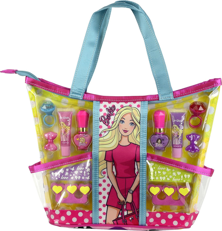 Barbie- set de maquillaje (Markwins 9709210): Amazon.es: Juguetes y juegos