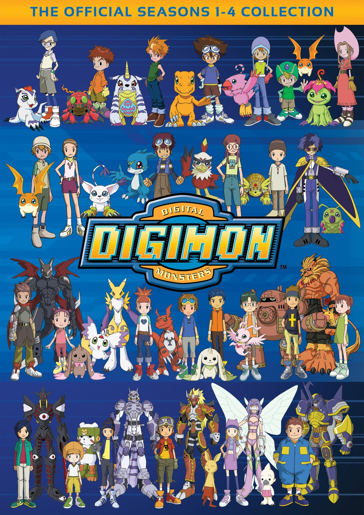 Digimon: The Official Seasons 1-4 Collection by NEW VIDEO GROUP