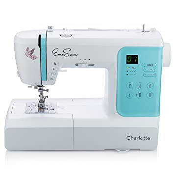 Amazon.com: EverSewn Charlotte: 70-Stitch Computerized Sewing ... : quilting sewing machines for beginners - Adamdwight.com