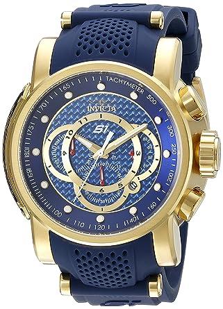 938daa542 Amazon.com: Invicta Men's 19330 S1 Rally Analog Display Quartz Blue Watch:  Invicta: Watches