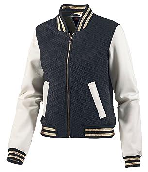Kleidung & Accessoires Damenmode Damen Kapuzenjacke Tom Tailor Weiß Größe S