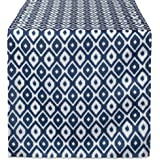 DII 100% Accesorios, Azul (Blue Ikat), Table Runner 14x72, 1, 1