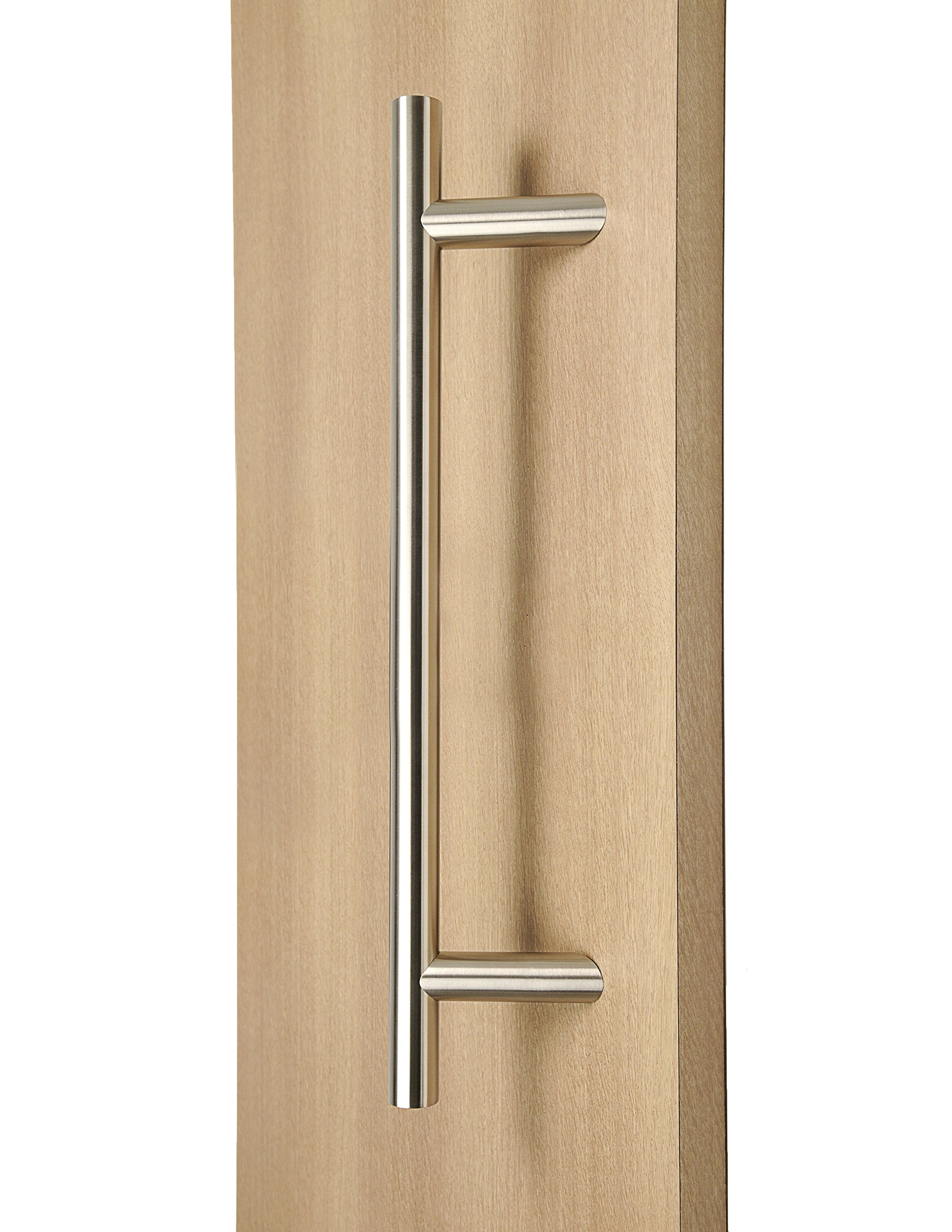Offset Apollo Oblique Entrance Entry Front Timber Frameless Glass Barn Sliding Garage Door Pull Push Handles (36 inches / 900mm)