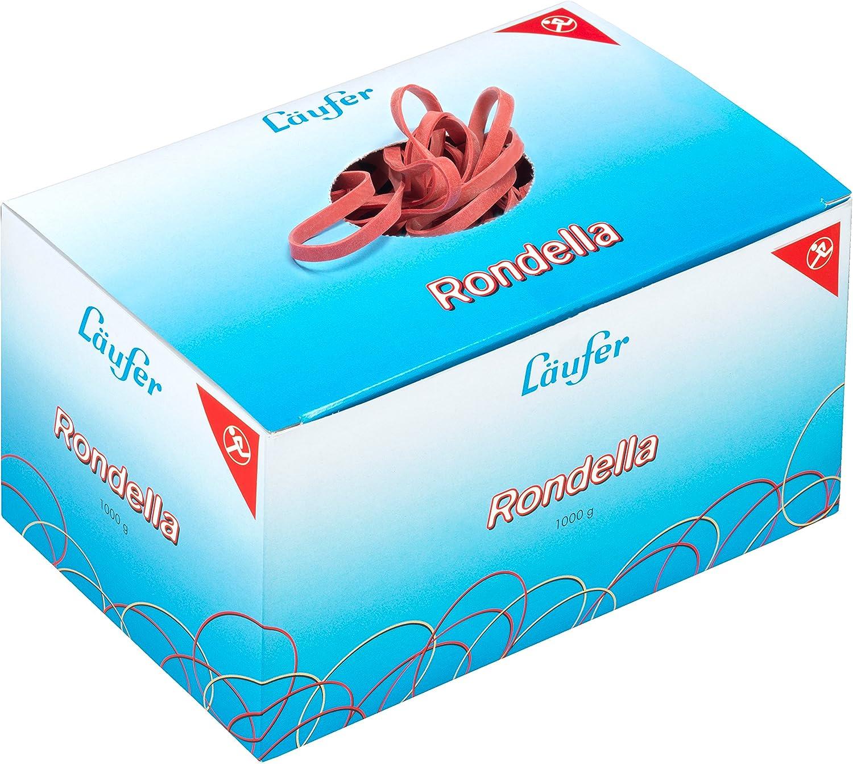 1kg Gummib/änder Gummiringe rot Breite=4mm /Ø=80mm