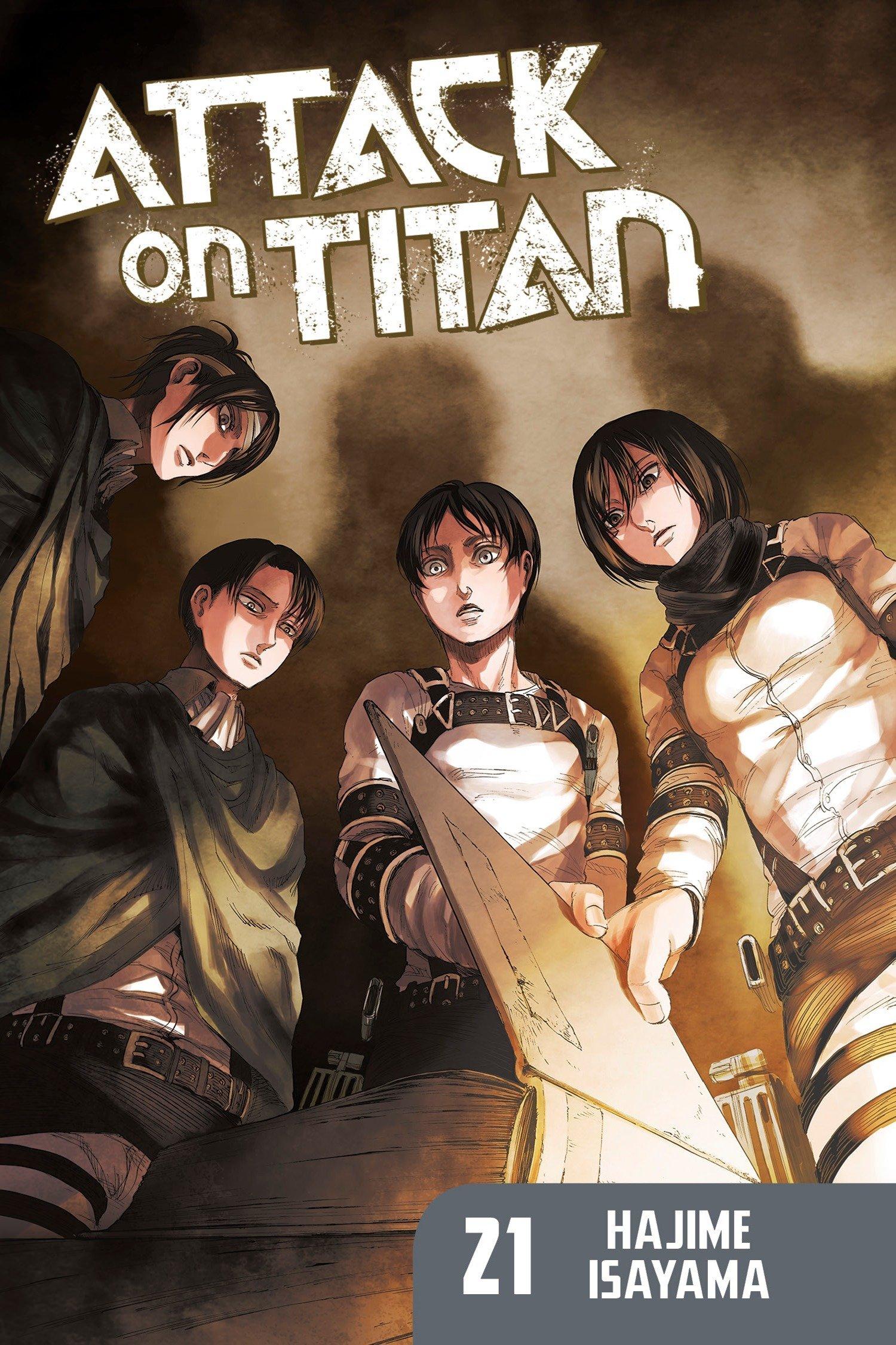 Attack on Titan 21 (Inglese) Copertina flessibile – 20 apr 2017 Hajime Isayama Kodansha Comics 1632363275 Comics & Graphic Novels
